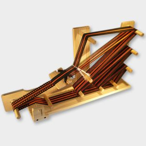 inkjet loom for weaving ribbons