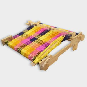 table loom with rigid reed or maria 80cms