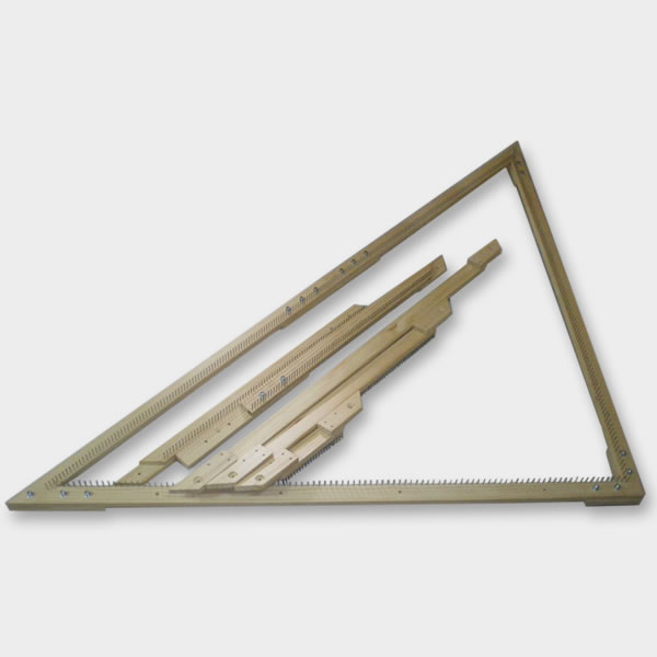 telar bastidor triangular ajustable